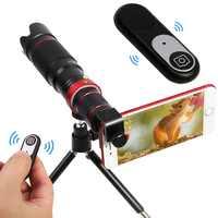 HD 4K 36x telescopio Cámara Zoom óptico teléfono móvil teleobjetivo para iphone Samsung Xiaomi Huawei Smartphone teléfono móvil lentes