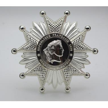 EMD French Legion Of Honor Breast Star In Silver1