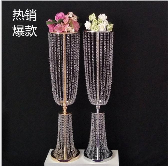 4pcs 31 4 tall acrylic crystal wedding road lead wedding centerpiece event wedding decoration event party