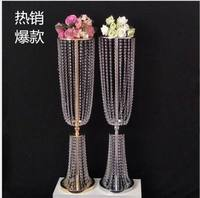 4pcs 31.4'' tall acrylic crystal wedding road lead wedding centerpiece event wedding decoration/event party decoration for table