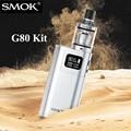 Оригинал SMOK G80 Комплект Электронных Сигарет Поле Mod Кальяна Пера Электронный Кальян 6-80 Вт Электронной сигареты Мод для спирали Танк X2007