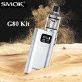 Original smok g80 kit caja mod cigarrillo electrónico shisha hookah lápiz electrónico 6-80 w mod cigarrillo electrónico para espirales tanque x2007