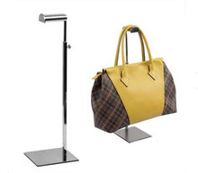 08469c79eebd 5pcs Stainess steel handbag display stand holder rack high quality clothing  store display prop bags wig