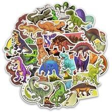 Pegatina de dinosaurio de dibujos animados, 50 Uds./30 Uds., unicornio, flamenco, juguete para niños, pegatinas a prueba de agua para DIY, Scrapbooking, motocicleta