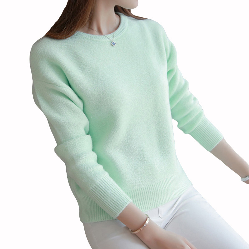 Oversized Sweater Women Cashmere Sweaters Pullovers Christmas Fashion 2017 new Autumn Winter Pull Femme Pullover Wool Knit AS47