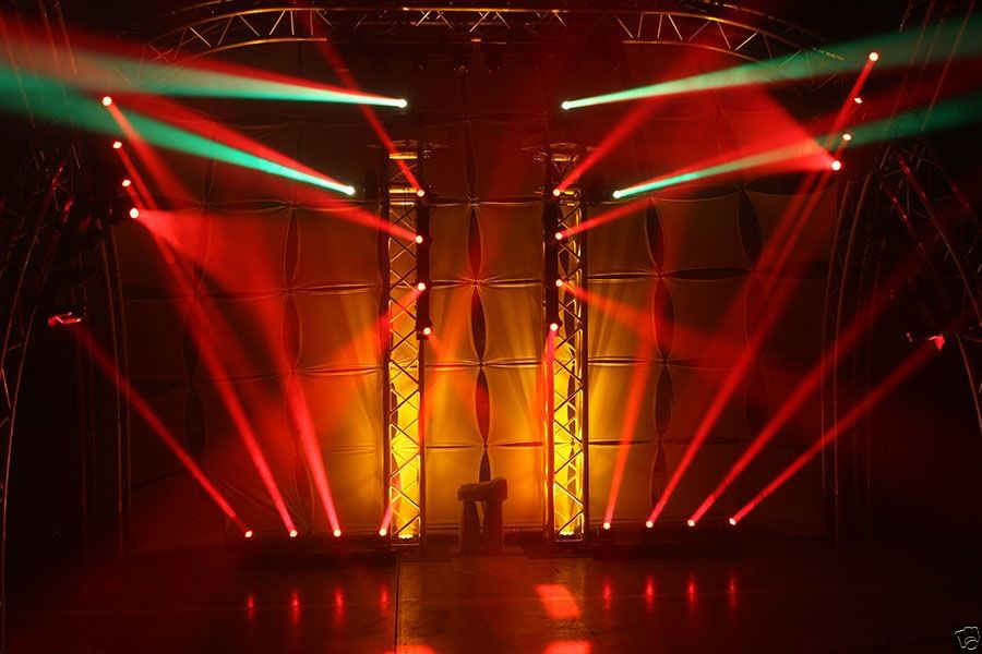 Купить с кэшбэком Free Shipping 4 Heads 60W Led Mini Beam Moving Head Light Professional Stage DJ Lighting DMX Controller Disco Projector Lasers