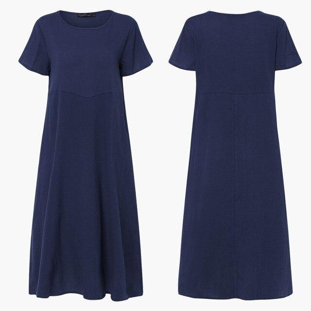 Boho light long cuff shoulder dress 5