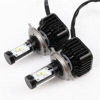 2X Car LED Headlight 12V 24V 80W 8000LM 6000K Light Auto Headlamp Bulb Kit H4 H7