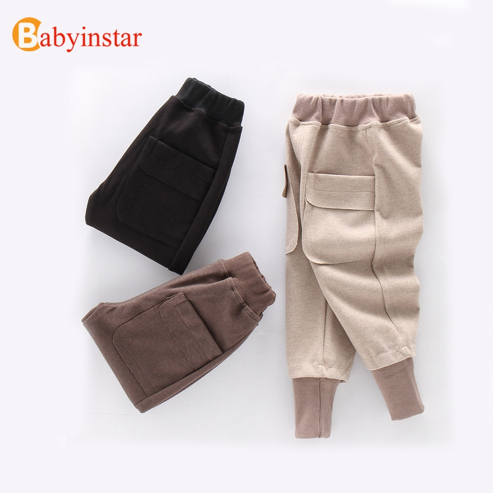Babyinstar Toddler Children's Clothing Leisure   Pants   &   Capris   Kids   Pants   For Boys Trousers Kids Casual   Pants   Baby Girls Clothes