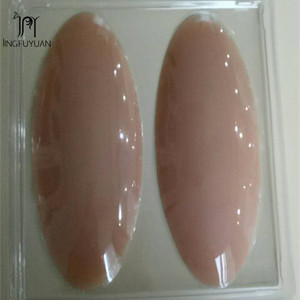 Image 2 - Silicone Leg Onlays Thin Legs Pads Self Adhesive Fix O Legs Onlays Silicone Calf Pads Beauty Leg Intimates 180g/ a pair