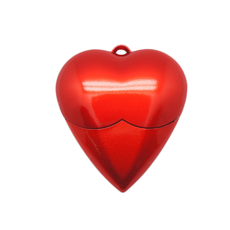 4GB-32GB Red Love Heart Silicon Rubber USB 3.0 Memory Stick Flash Pen Drive