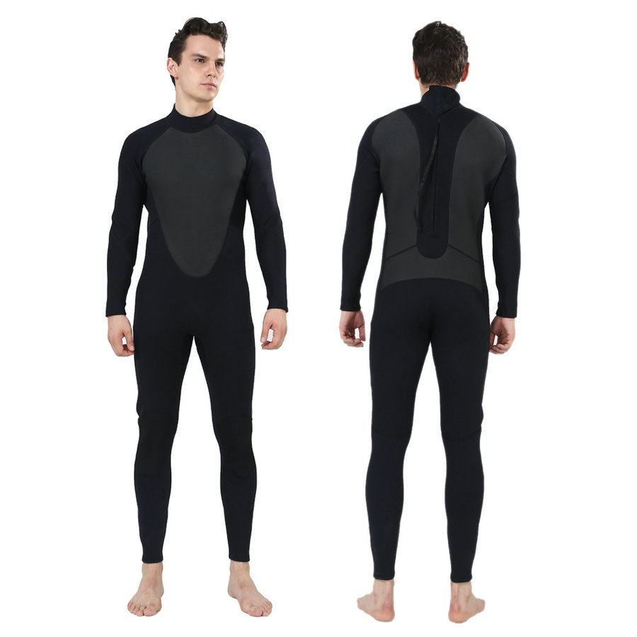 REALON Wetsuit 5mm Men and Women Free Diving Neoprene Full Suit Blind Stitching Jumpsuit with Super-stretch Armpit Wet Suits high quality cortex 3 5mm surf diving wet suits jacket men women surfing diving spearfishing wet suit long sleeve jacket wetsuit
