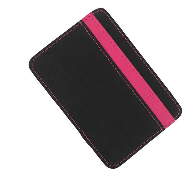 JINBAOLAI Slim Male Magic Wallet Scrub PU Leather Purse High Quality Carteira Magica Masculina Porte Monnaie Small Wallets 2018 1