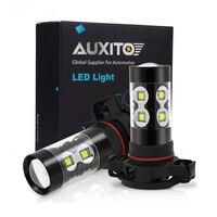 2 шт. PSX24W LED H16 H10 H11 H8 Противотуманные фары 9006 HB4 авто лампы 880 881 50 Вт светодиодные лампы Автомобильные дневные ходовые огни DRL лампы 6000 К Белый