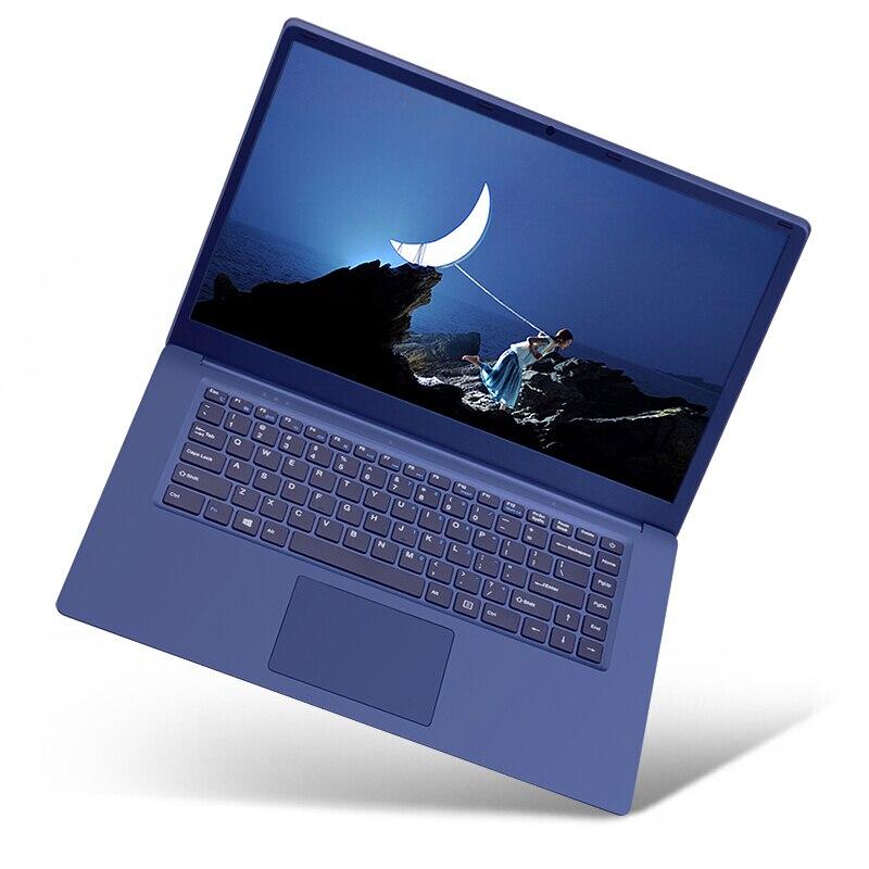 Zeuslap 15.6 дюйма Intel 6 ГБ Оперативная память + 750 ГБ HDD 1920x1080 P FHD Оконные рамы 10 Системы WI-FI ультратонкий Bluetooth Тетрадь ноутбук