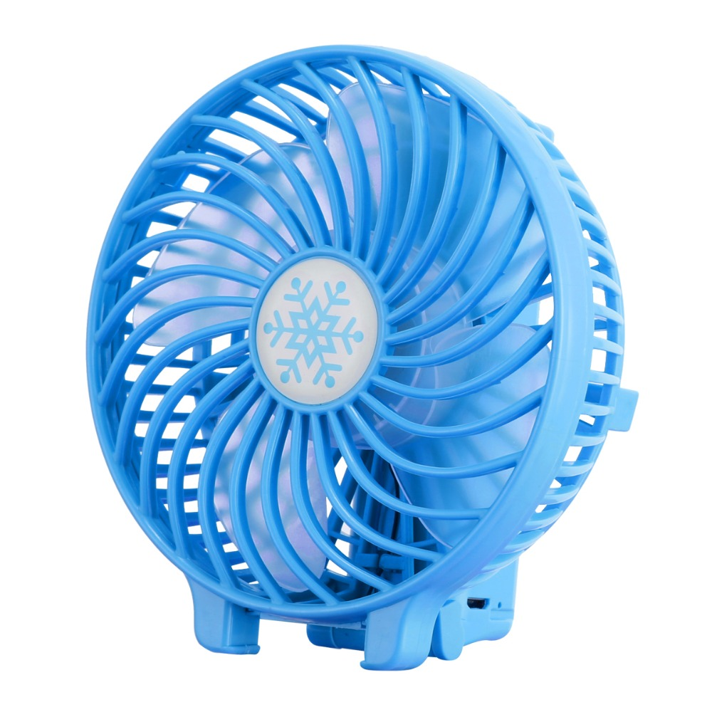 ZQ Portable Mini Tower USB Charging Fan,Creative Office Student Dormitory Handheld Fashion Cool Fan,A