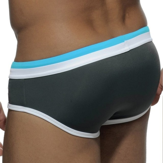 Men Swimsuit Swim Shorts Nylon Gay