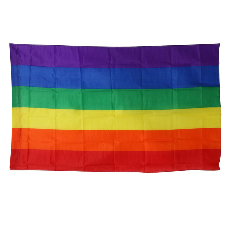 333a5592927a Rainbow Flags And Banners 3x5FT 90x150cm Polyester Colorful Pride LGBT Flag  for Home Party Decoration Event Banners Decoration