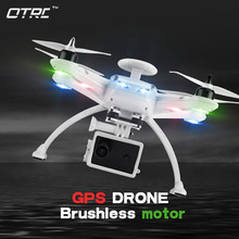 GPS Professional RC Drone Helicopter Brushless Motor AOSENMA CG035 2 FPV Quadcopter with HD Camera 1080p Double OTRC