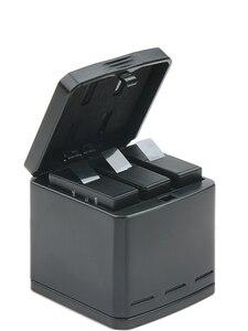 Image 3 - Новый 100% Оригинальный аккумулятор для Gopro HERO 7, батареи Gopro 5 6, 3 стороннее зарядное устройство, чехол для аккумулятора камеры GoPro HERO 7, Clownfish