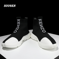 Male Shoe Social Chaussure Mocassin Homme Male Shoes Adult Krasovki Fashion Espadrilles Man 2018 Red Sneakers Platform Trainers