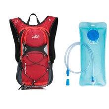 Красный/синий/зеленый/черный велосипедные сумки 15L велосипед рюкзак MTB Велоспорт Бег Пеший Туризм Кемпинг рюкзак емкость для гидратации на 2L мешок для воды