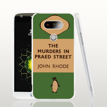 07154 penguin murders praed street cell phone protective case cover for LG G5 G4 G3 K10 K7 Spirit magna