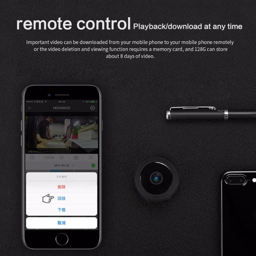Spy Camera – Mini Magnetic IP Camera 1080P with IR Night Vision & Motion Detection 4