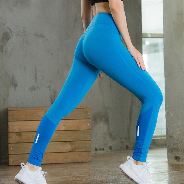 fa2fd2539be9b RUTIGEFU 2017 Spring Women Sexy Yoga Sports Pants Compression Leggings  Seamless stitching Leggings Gym Skinny Fitness Sportswear