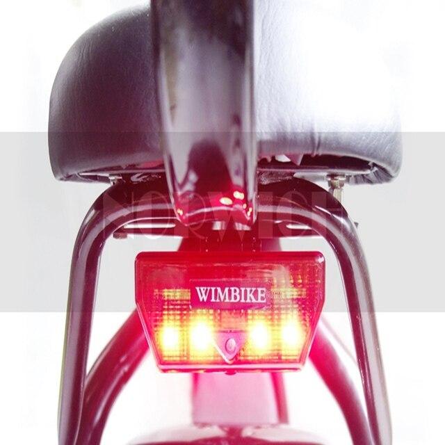 Citycoco Elektrische Scooter Led verlichting Brede Banden ...