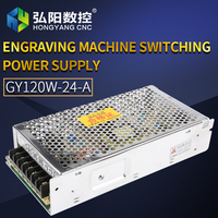 Switching Power Supply 120W 24V 5A Driver Switch Cnc Router Parts Factory Supplier