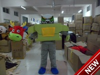 2018 New Mascot Costume Adult Character Costume Mascot As Fashion Freeshipping Cosplay Green Robot