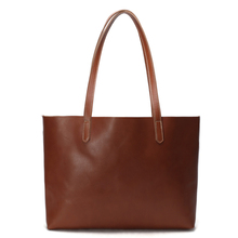ROCKCOW Vintage Genuine Leather Women Tote Bag, Shopping Bag, Shoulder Bag ZB01