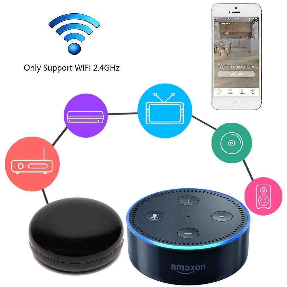 Tuya universal Smart IR Hub remote control Voice Control AC, TV, Work With  Alexa ,Google Home Assistant,Apple,Android smartphone