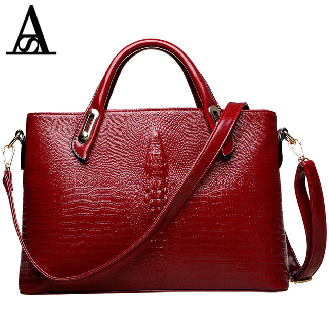 Famosas Leather Handbag Lady Top Brands Bolsas Package Women Femininas Famous Marcas In Us49 Handle De Genuine 0aitesen Tassen Alligator PTZukiOX