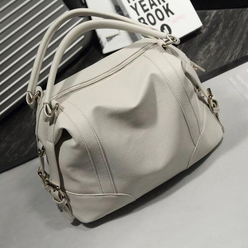 Sacs à main de luxe sacs pour femmes haut de marque-poignée sacs pour femmes 2018 décontracté fourre-tout blanc Sac Bolsa Feminina Sac Femme