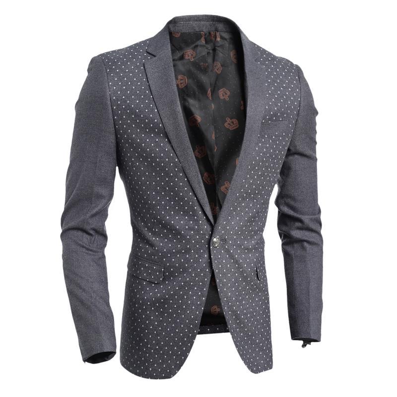 High Quality Asian Size Mens blazer suit jacket black navy blue velvet 2016 spring autumn outwear coat Free shipping