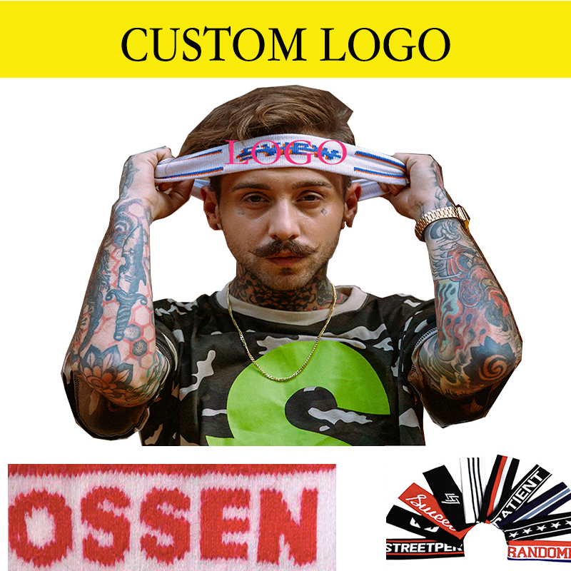 Headband Sport Yoga Headband Custom Made Sweatband Knit hairband Custom  made Headwear with logo custom knit headbands 7ea03bd0c2c