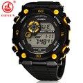 2015 New Mens Sports Relógios Cronógrafo Alarme OHSEN Marca Digital LED Ao Ar Livre Vestido Relógio de Pulso Militar Assista Relogio masculino
