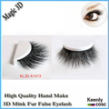Fastest Shipping! Popular 3d lash strips, party false eyelash extension handmake 3D mink eyelash belle lashes