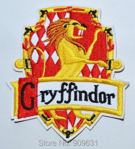 Potter house gryffindor crest badge harry applique iron on - Gryffindor crest high resolution ...