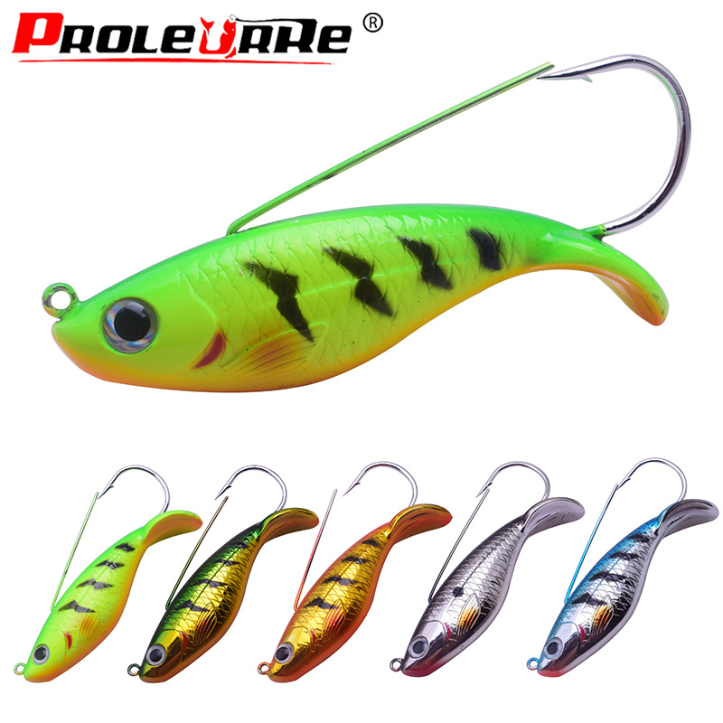 GALLEGGIANTE IMMERSIONE Spina Minnow Lure Swim Hard Bait CRANK BAIT Fishing Tackle 85 mm