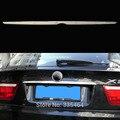 Car Modification Rear Trunk lid cover rear trunk trims  for BMW X5 E70 car reflective trim cover