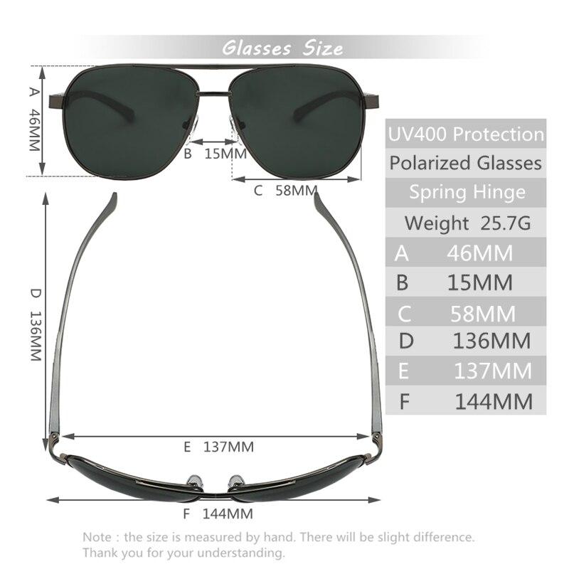 270bdb69ed Lukoko gozluk marcas de gafas italianas suave aviador masculino Gafas de  sol polarizadas los hombres marcas de lujo sunglases hombres polar 400  ochki en De ...
