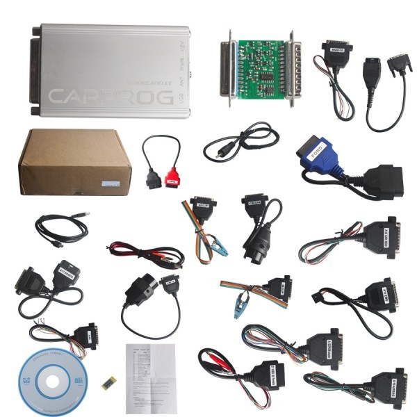 ECU Programmer Carprog Full V8.21 Firmware Perfect Online Version with All 21 Adapters Carprog Software V8.21/V9.31/10.05