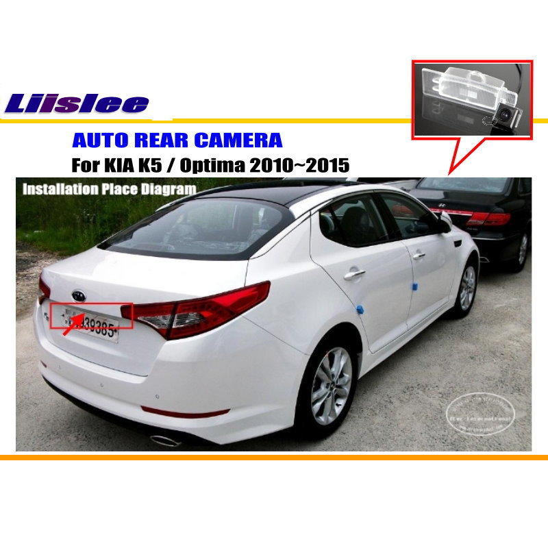 Liislee парковка Камера/Обратный Камера для KIA K5/Optima 2010~ /заднего Камера/License лампа OEM