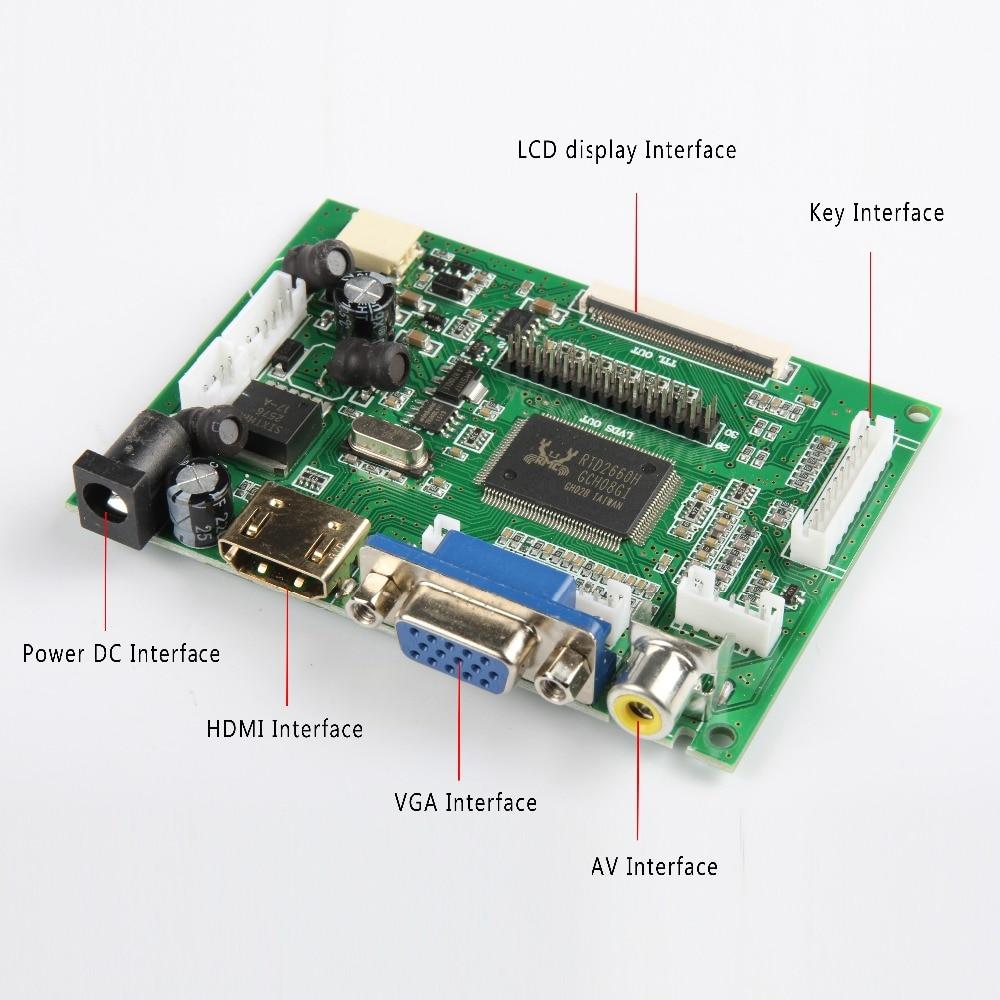 Skylarpu LCD TTL LVDS Controller Board HDMI VGA 2AV 50PIN For AT070TN90 92 94 AT090TN10 VS-TY2662-V1 Driver Board Free Shipping