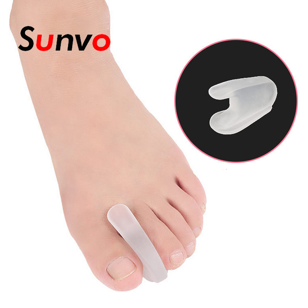 Sunvo Orthotics For Hallux Valgus Toe Separators Bunion Overlapping Corrector Spacer Feet Care Protector Pain Relief Inserts
