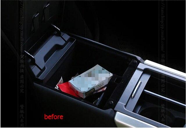 Пластиковые! централизованное Хранение Паллет Подлокотник Box Контейнер 1 шт. Для Range Rover Evoque 2012-2015