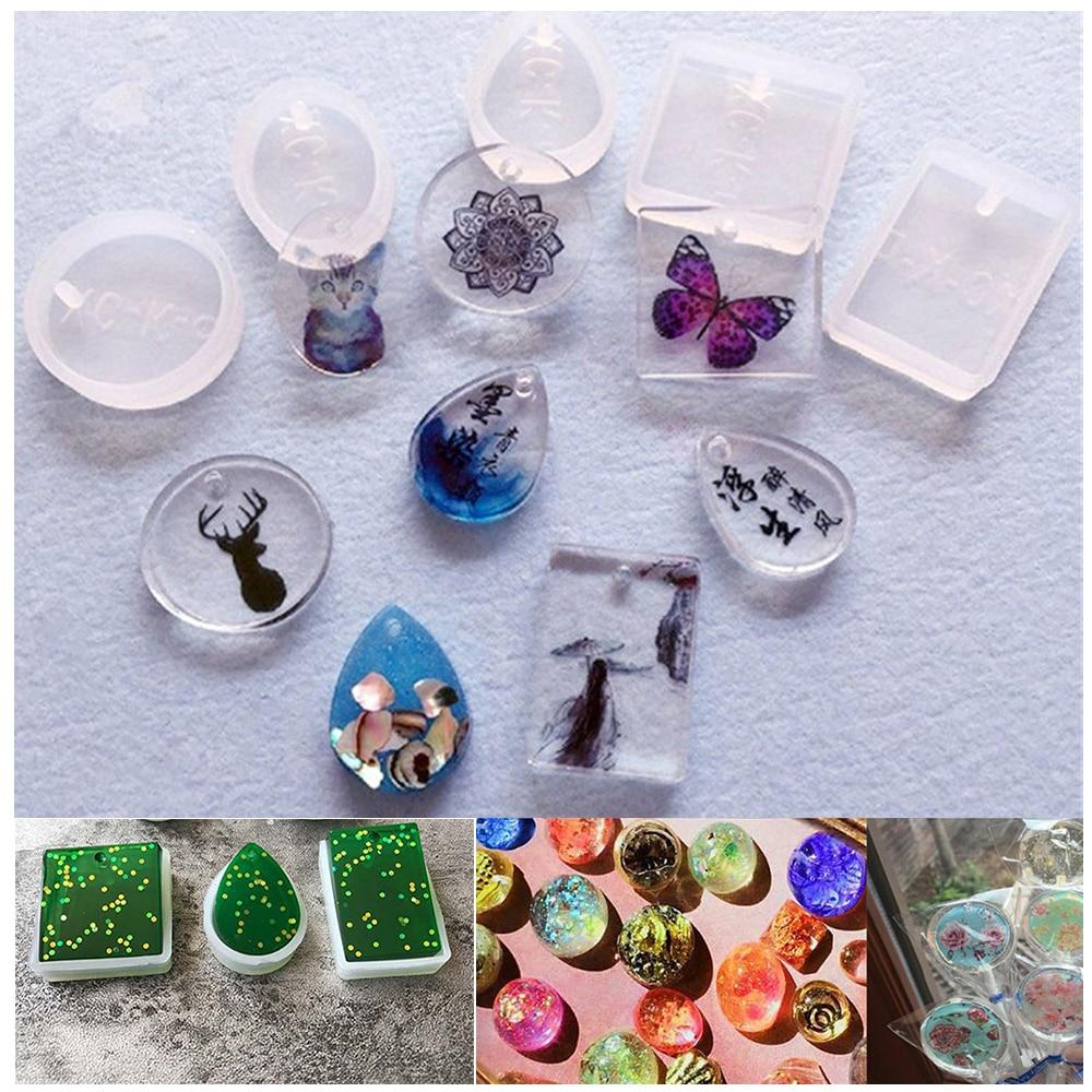 Горячее предложение 5 шт./компл. силиконовая форма капли воды для полимерных форм кристаллический алмазный браслет подвеска ювелирные изделия купольная форма литье смолы|Формы для тортов|   | АлиЭкспресс - Форма для эпоксидной смолы